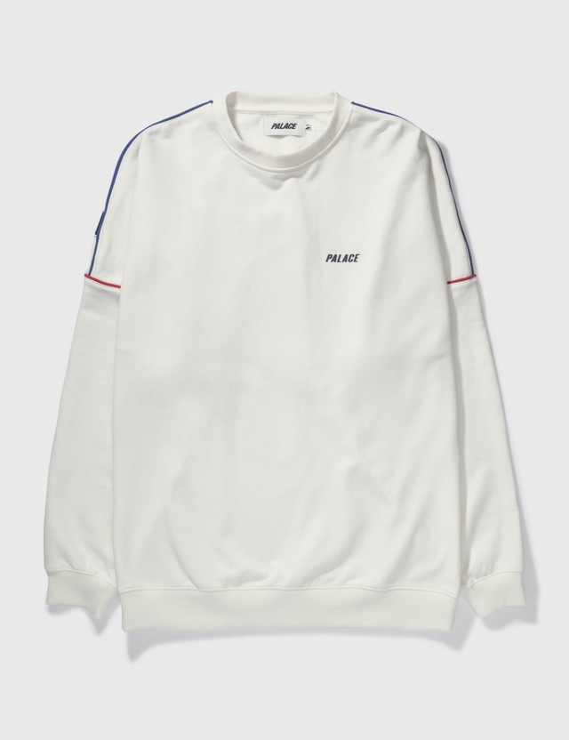 Palace Skateboards Palace Crewneck White Archives