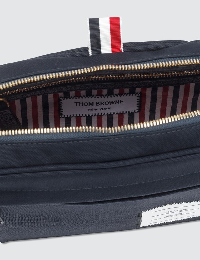 Thom Browne Interlock Backing Canvas Belt Bag