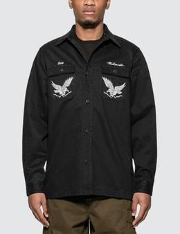 Maharishi Drone Eagle Organic Tour Shirt