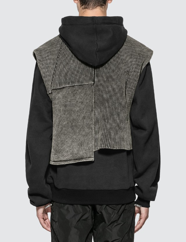 Heliot Emil Knitted Vest Hoodie