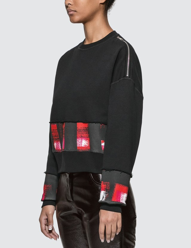 Alexander McQueen Shoulder Zipped Sweatshirt