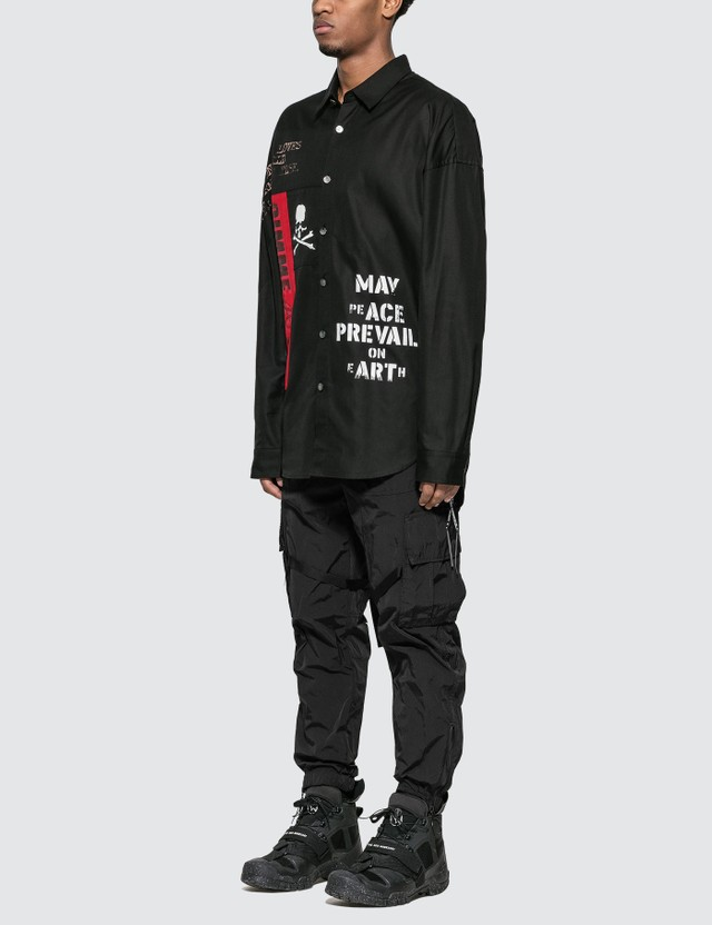 Mastermind World Letterings Print Shirt