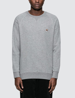 Maison Kitsune Fox Head Patch Sweatshirt