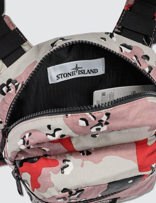 Stone Island Desert Camo Belt Bag Plaster Men