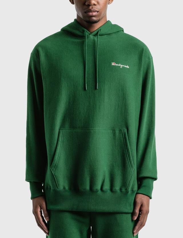 READYMADE Readymade Logo Hoodie Green Men