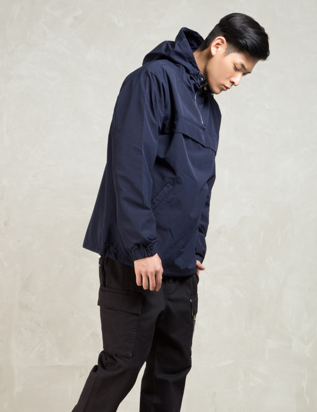 LIFUL Navy Pullover Anorak Jacket