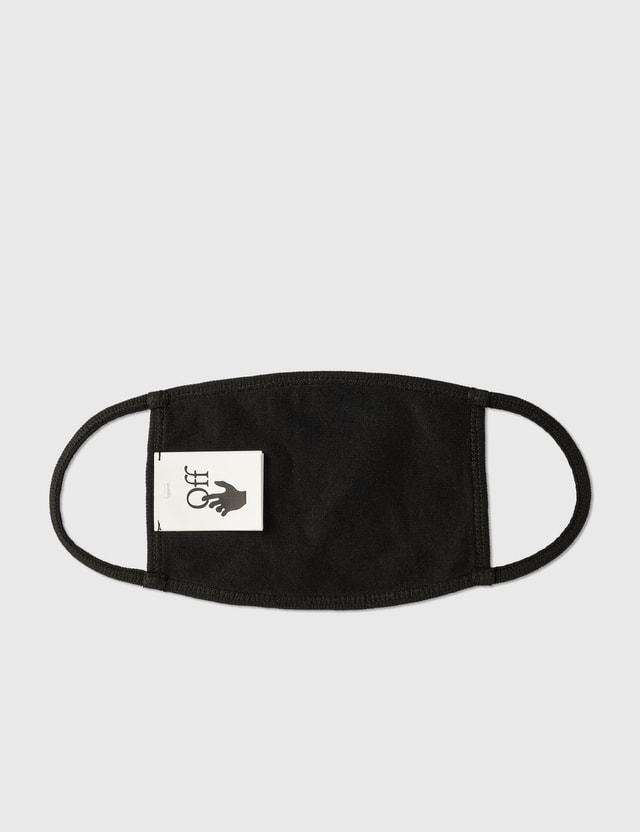Off-White Diag Mask Black White Unisex