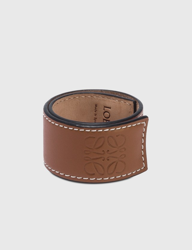 Loewe Small Slap Bracelet Tan Women