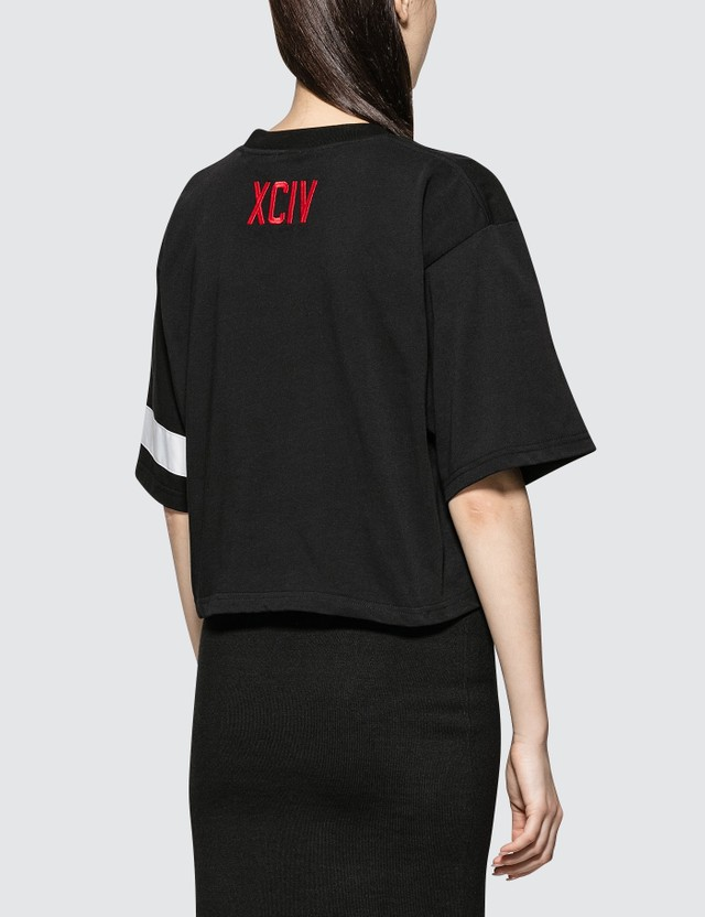GCDS Logo Crop T-shirt