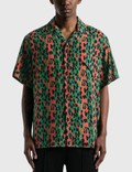 Wacko Maria Hawaiian SS Shirt  ( Type-6 ) Green Men