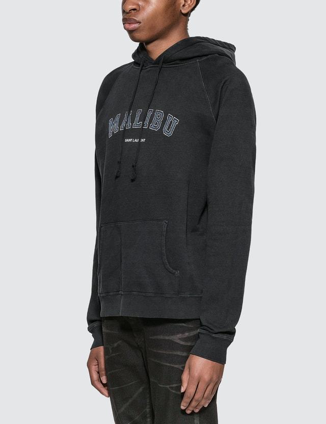 Saint Laurent Malibu Saint Laurent Hoodie Dark Navy  Men