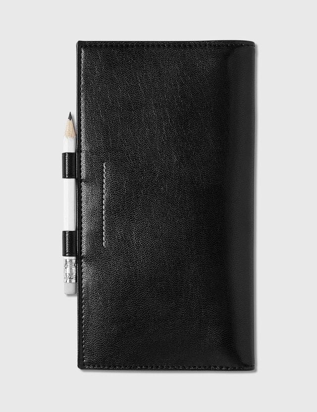 MM6 Maison Margiela Long Wallet With Pencil Black Women