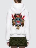 Kirin Haetae Jac Fur Hooded Bomber Jacket Picture