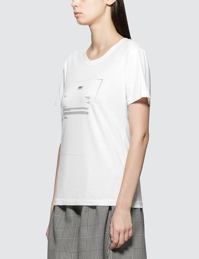 MM6 Maison Margiela Short Sleeve Logo T-Shirt