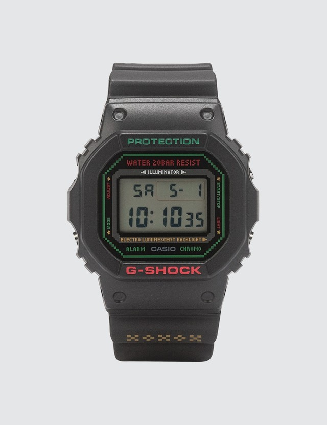 G-Shock LOV-19B-1 Christmas Lover's collection DW-5600LG-1 & BGD-560LG-1