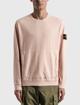 Stone Island Sweatshirt With Large Pocket