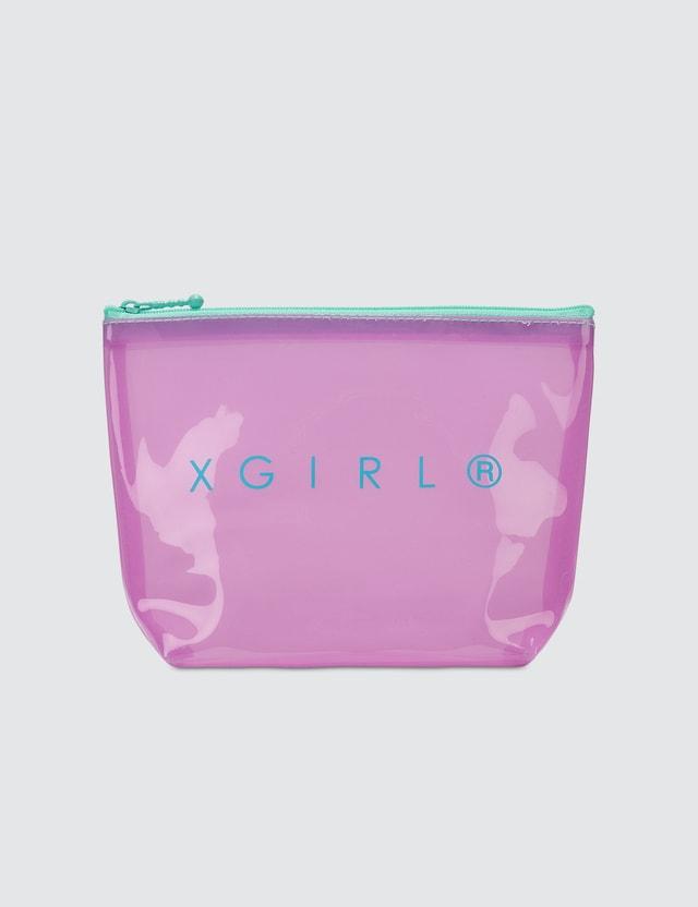 X-Girl Pvc Clear Pouch