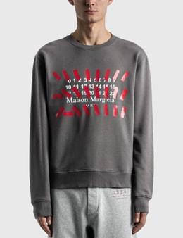 Maison Margiela Numbers Sweatshirt