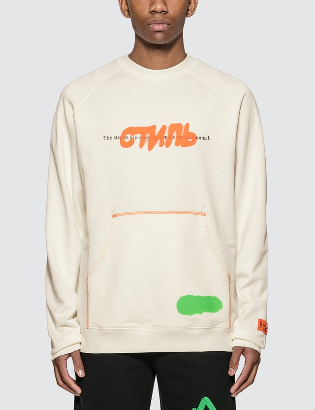 Heron Preston CTNMb Spray Sweatshirt