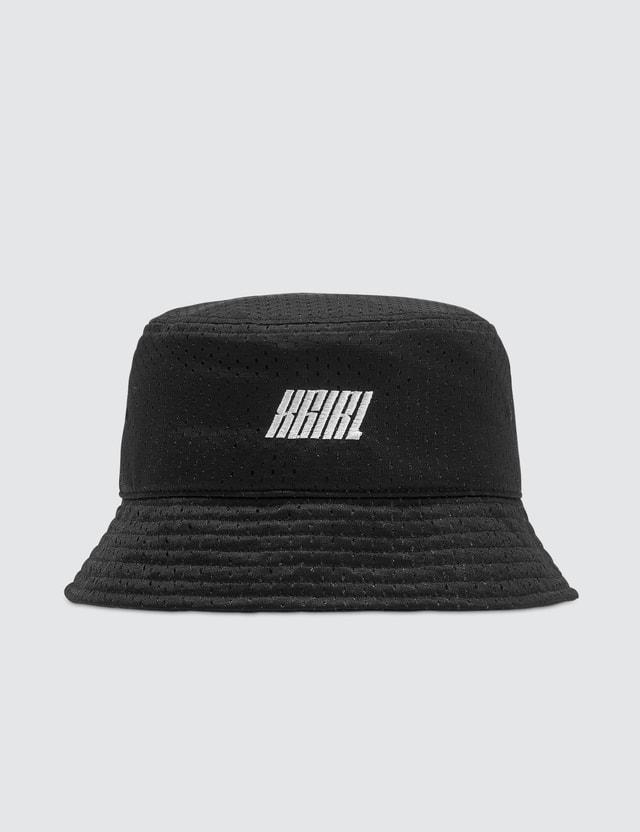 X-Girl Mesh Bucket Hat