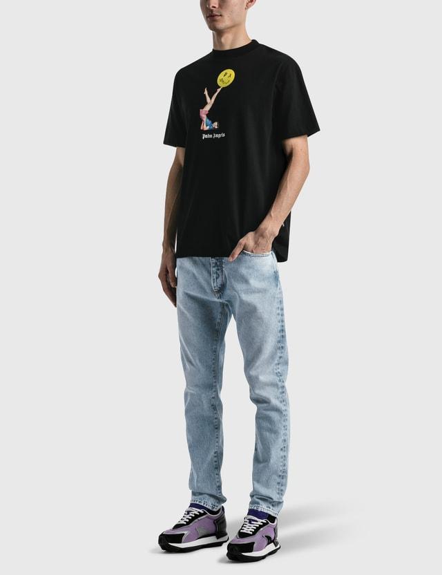 Palm Angels Juggler Pin Up T-shirt Black Men