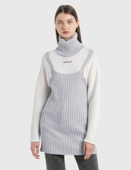 Off-White Optical Illusion Turtleneck