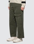 JW Anderson Front Pockets Fold Front Cotton Trousers