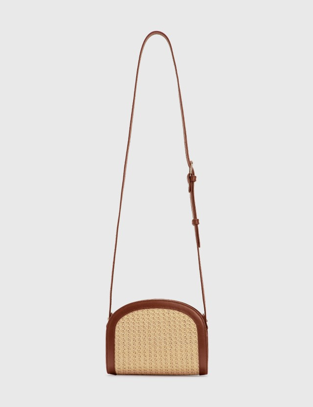 A.P.C. Mini Half Moon Bag Cad Hazelnut Women
