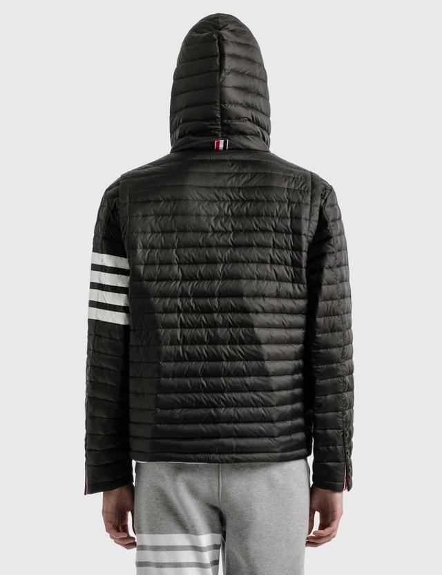 Thom Browne 4 Bar Stripe Downfill Qulited Jacket Black Men