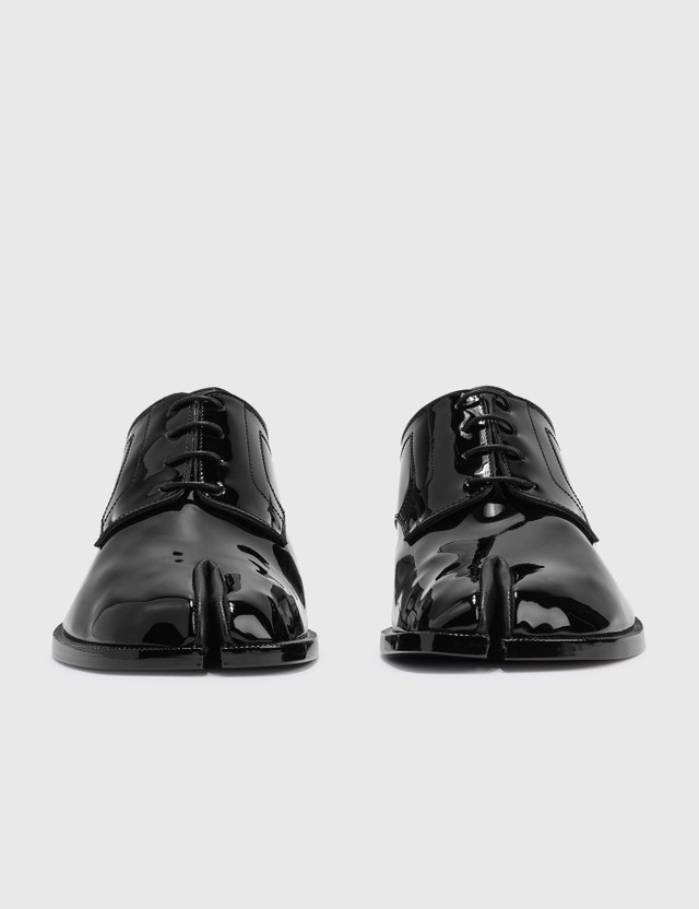 Maison Margiela Tabi Lace Up Shoes Black Men