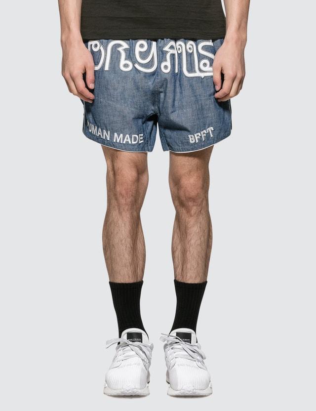Human Made Chambray Muay Thai Shorts