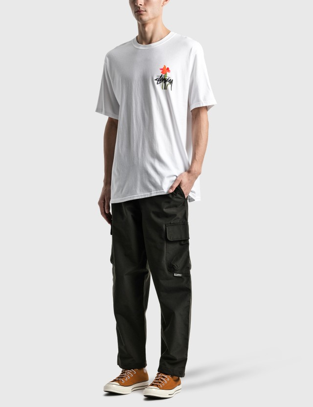 Stussy Water Flowers T-Shirt White Men