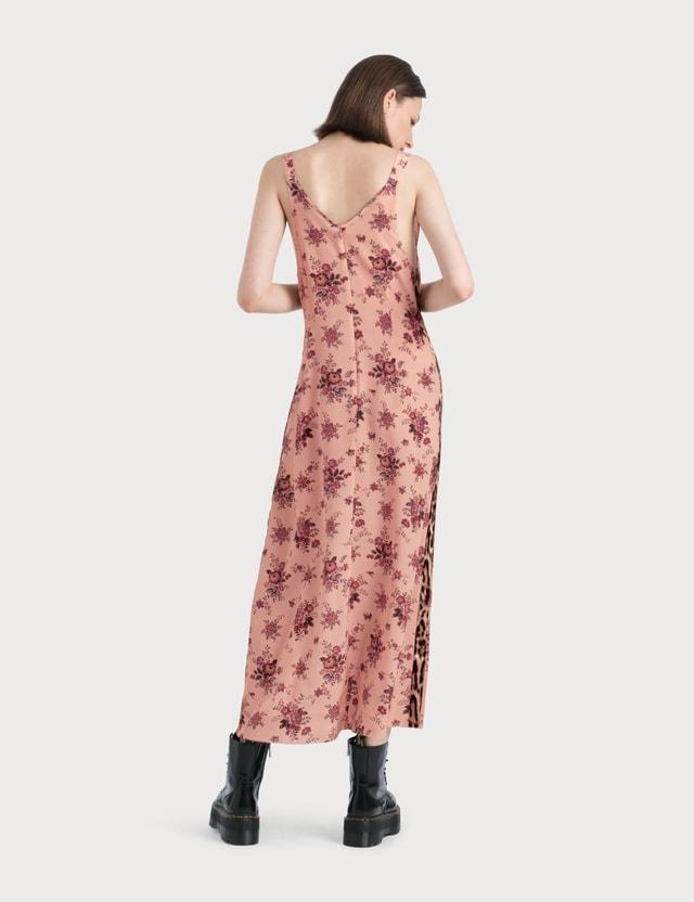 R13 Long Slip With Side Stripe Dress