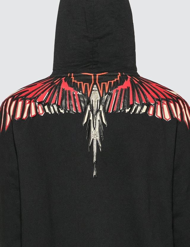 Marcelo Burlon Geometric Wings Hoodie