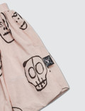 NUNUNU Skull Mask Ballon Skirt