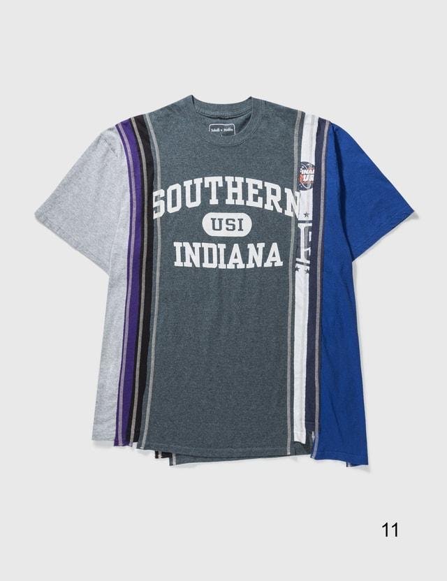 Needles 7 Cuts College Ss T-shirt Multicolor Men