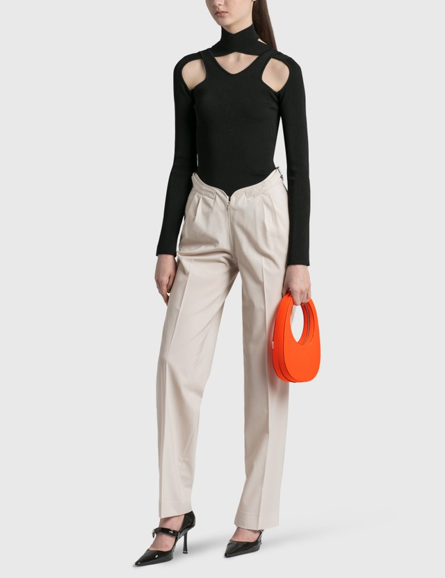 Coperni Heartband Trouser Sand Women