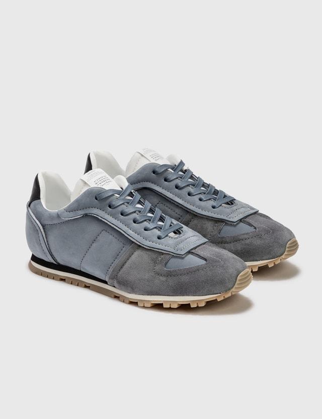 Maison Margiela Runner Sneaker Elephant/white/black Men