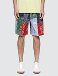Loewe Bandana Patchwork Shorts Picture