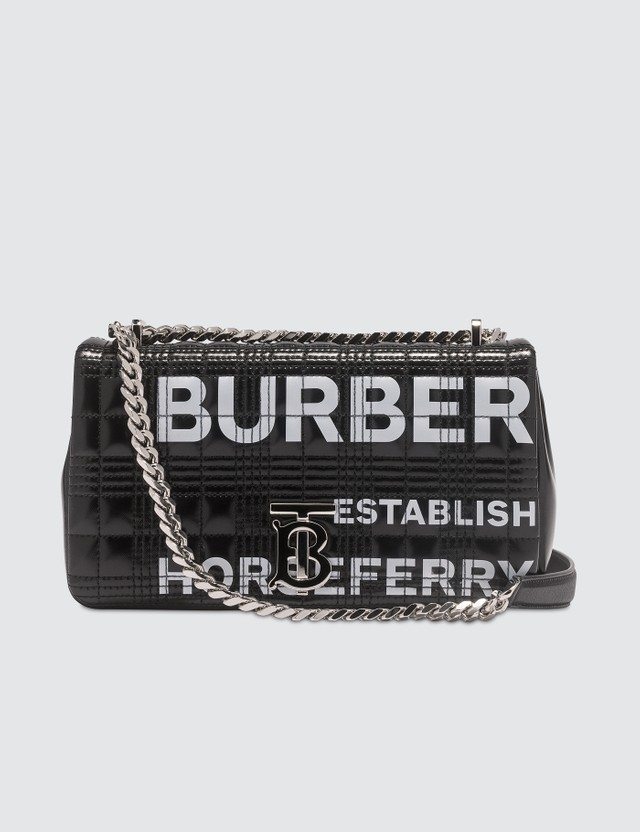 Burberry Small Horseferry Print Quilted Lola Bag