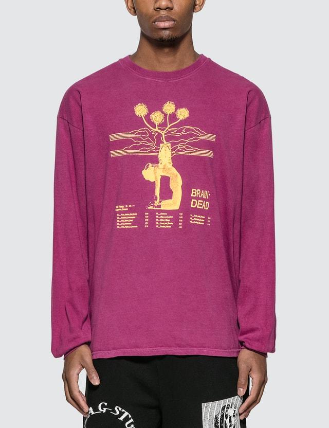 Brain Dead Mind Keep Long Sleeve T-shirt