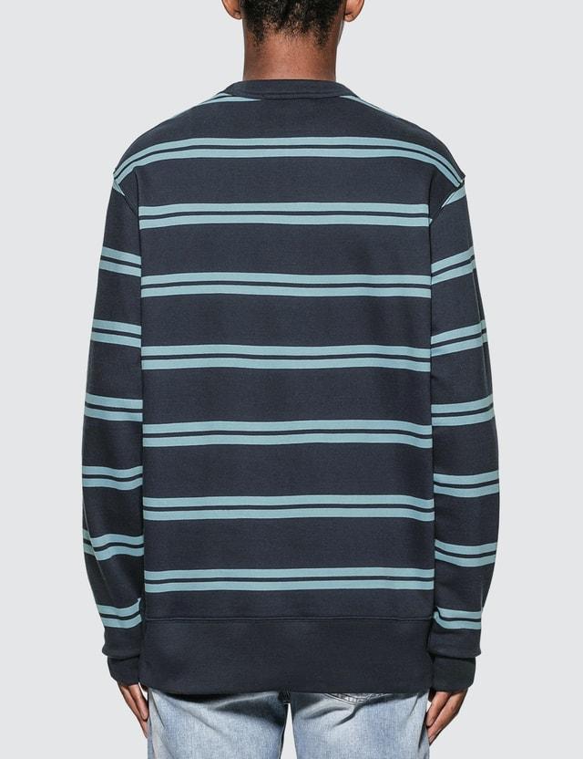 Acne Studios Oversized Stripe Sweatshirt