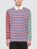 Stussy Jonah Stripe L/S Rugby Picture