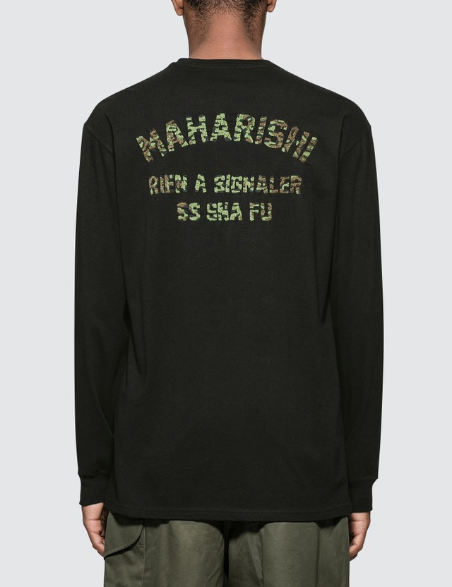 Maharishi Signaler L/S T-Shirt