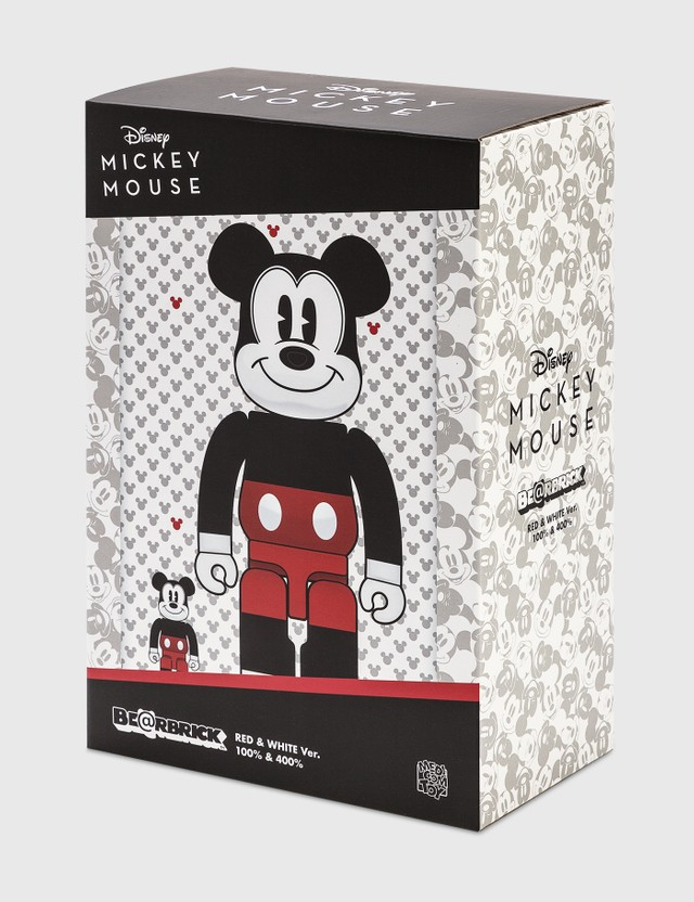 Medicom Toy Be@rbrick Mickey Mouse (R&W 2020 Ver.) 100%&400% Set