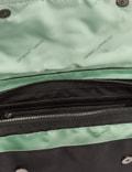 Off-White Nylon Zipped Flap Crossbody Bag