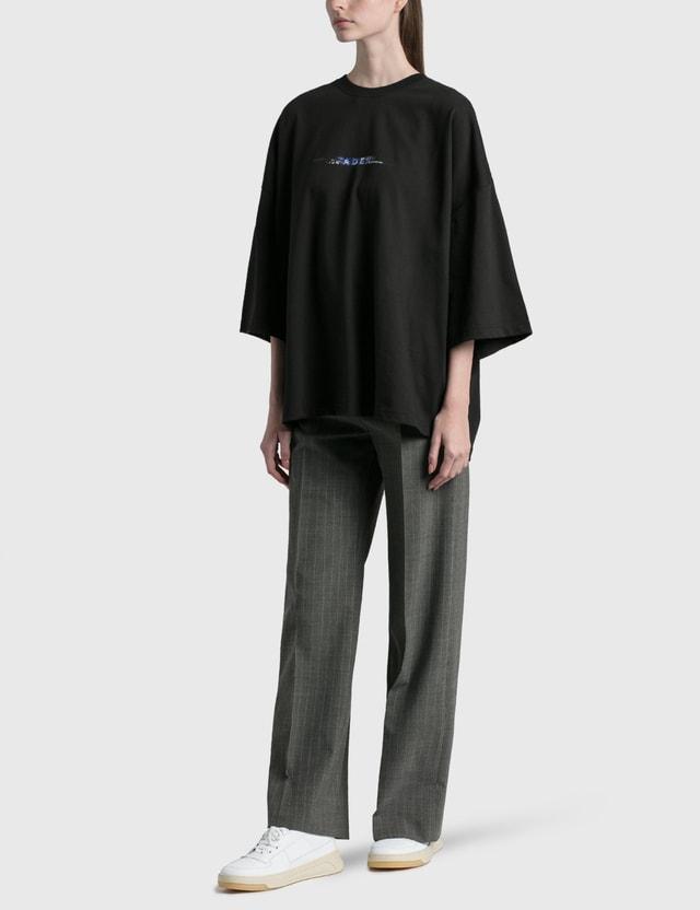 Ader Error Oversized T-shirt Black (black) Women