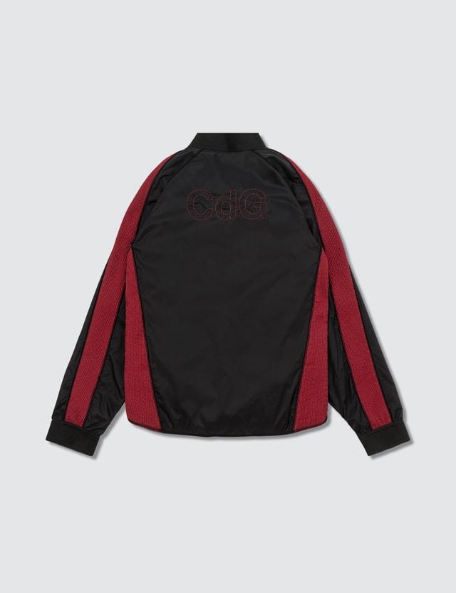 Comme des Garçons HOMME Cdg Back Logo Zip Blouson