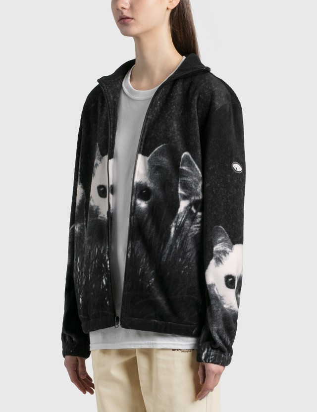 RIPNDIP Field Of Cats Sherpa Jacket Black Women