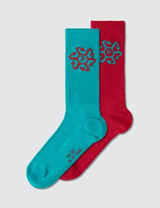 Rassvet Two Tone Jacquard Socks
